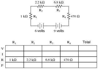 Marvelous Series Dc Circuits Practice Worksheet With Answers Basic Wiring 101 Cajosaxxcnl