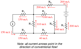 Kirchhoff's Laws : DC Electric Circuits Worksheets