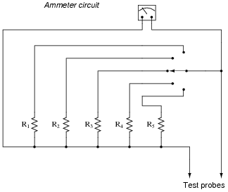 a diagram of an atom of chromium diagram of ammeter ammeter design | dc electric circuits worksheets