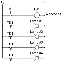 Time-Delay Electromechanical Relays | Digital Circuits Worksheets