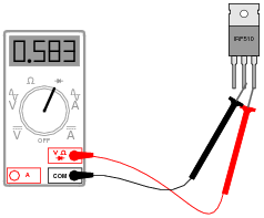 how to test mosfet with multimeter pdf