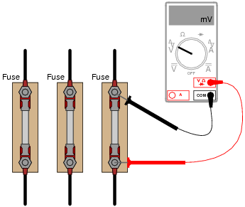 How to test voltage at fuse box 31 wiring diagram images for How to check ac motor