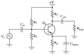 class a bjt amplifiers discrete semiconductor devices and circuits rh allaboutcircuits com