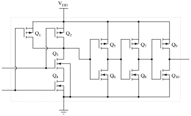 Cmos Logic Gates Digital Circuits Worksheets