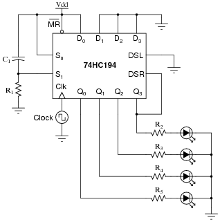 shift registers digital circuits worksheets rh allaboutcircuits com circuit shift register multiply by 5/2 universal shift register circuit diagram