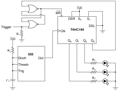 shift register circuit diagram the wiring diagram shift registers digital circuits worksheets circuit diagram